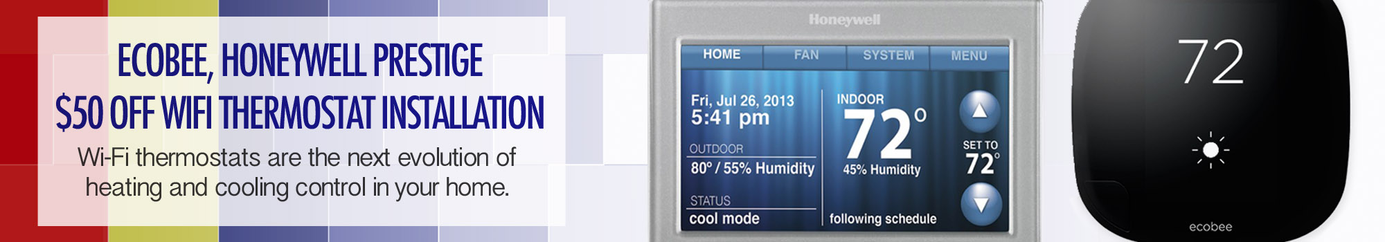 Call us for Wi-Fi Thermostat installations in Libertyville IL!